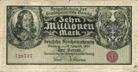 R.804a: Danzig 10 Millionen Mark 1923 (3)