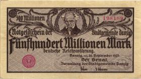 R.807: Danzig 500 Millionen Mark 1923 (2)
