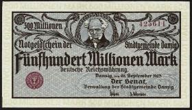 R.807b: Danzig 500 Millionen Mark 1923 (1)