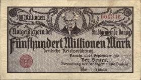 R.807F: Danzig 500 Millionen Mark 1923 (2)