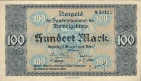 R.846-54: Memelgebiet 1/2 Mark - 100 Mark 1922 (1)