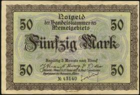 R.852a: Memelgebiet 50 Mark 1922 (3)