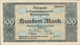 R.854: Memelgebiet 100 Mark 1922 (1)