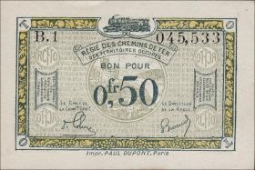 R.858a: Rheinland 0,50 Franc (1923) (1)