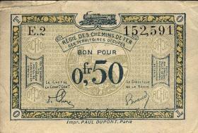 R.858a: Rheinland 0,50 Franc (1923) (3)