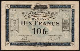 R.861a: Rheinland 10 Francs (1923) (3)