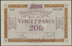 R.862b: Rheinland 20 Francs (1923) (1)