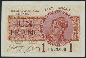 R.866: Saar 1 Franc 1930 (1/1-)