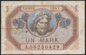 R.867: Saarland 1 Mark 1947 (3)