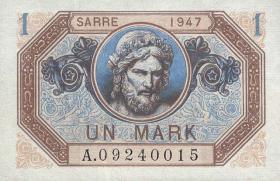 R.867: Saarland 1 Mark 1947 (1)