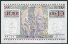 R.870: Saarland 10 Mark 1947 (1/1-)