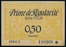 R.878: Saarland 0,50 Saarmark (1947) (1)