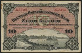 R.901: Deutsch-Ostafrika 10 Rupien 1905 (3)