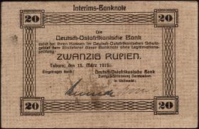 R.906a: Deutsch-Ostafrika 20 Rupien 1915 (1-)
