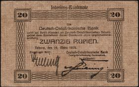 R.906a: Deutsch-Ostafrika 20 Rupien 1915 (3+)