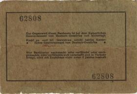 R.909c: Deutsch-Ostafrika 5 Rupien 1915 (3)
