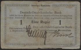 R.911: Deutsch-Ostafrika 1 Rupie 1915 (4)