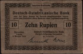 R.912a: Deutsch-Ostafrika 10 Rupien 1915 (3)