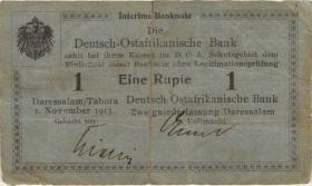 R.914a: Deutsch-Ostafrika 1 Rupie 1915 A (4)
