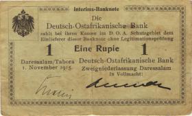 R.915: Deutsch-Ostafrika 1 Rupie 1915 B (3)