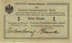 R.915: Deutsch-Ostafrika 1 Rupie 1915 B (3) 07285
