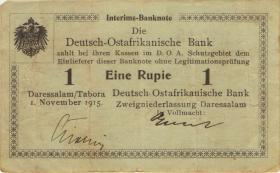 R.915: Deutsch-Ostafrika 1 Rupie 1915 B (3) 27715