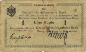 R.915: Deutsch-Ostafrika 1 Rupie 1915 B (3) 29071