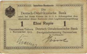 R.915: Deutsch-Ostafrika 1 Rupie 1915 B (3) 08295