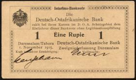 R.916d: Deutsch-Ostafrika 1 Rupie 1915 C (1/1-)