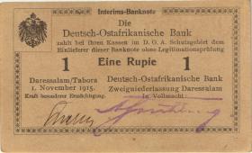 R.916g: Deutsch-Ostafrika 1 Rupie 1915 P (1-)
