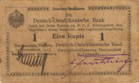 R.916j: Deutsch-Ostafrika 1 Rupie 1915 R (3)