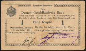 R.916o: Deutsch-Ostafrika 1 Rupie 1915 V (1-)