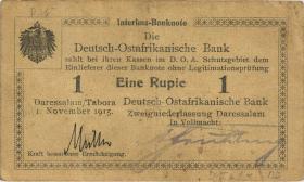 R.917d: Deutsch-Ostafrika 1 Rupie 1915 D (3)