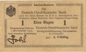 R.918b: Deutsch-Ostafrika 1 Rupie 1915 E (1/1-)