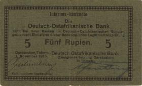 R.921a: Deutsch-Ostafrika 5 Rupien 1915 D (2)