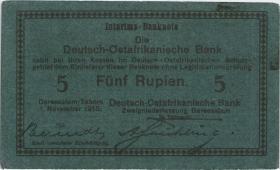 R.921Aj: Deutsch-Ostafrika 5 Rupien 1915 F (2)
