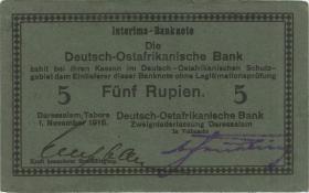 R.921f: Deutsch-Ostafrika 5 Rupien 1915 E (1-)