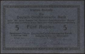 R.921k: Deutsch-Ostafrika 5 Rupien 1915 (2)