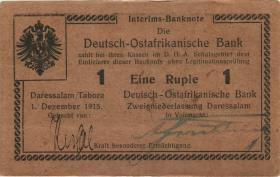 R.922b: Deutsch-Ostafrika 1 Rupie 1915 H (1-)