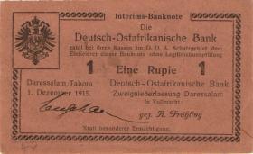 R.923d: Deutsch-Ostafrika 1 Rupie 1915 J (1-)