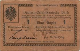 R.923d: Deutsch-Ostafrika 1 Rupie 1915 J (3)