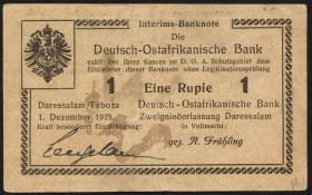 R.924g: Deutsch-Ostafrika 1 Rupie 1915 K (2)