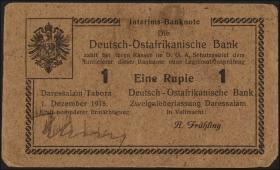 R.926a: Deutsch-Ostafrika 1 Rupie 1916 L (2)