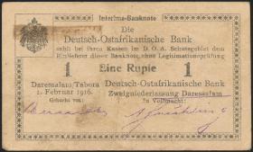 R.928ab: Deutsch-Ostafrika 1 Rupie 1916 G3 (2)
