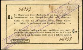 R.928b: Deutsch-Ostafrika 1 Rupie 1916 G2 (1)