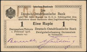 R.928i: Deutsch-Ostafrika 1 Rupie 1916 O2 (1-)
