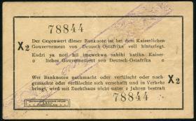 R.928r: Deutsch-Ostafrika 1 Rupie 1916 X2 (2)