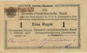 R.929n: Deutsch-Ostafrika 1 Rupie 1916 Q3 (2)