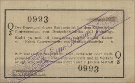 R.929o: Deutsch-Ostafrika 1 Rupie 1916 Q3 (2)