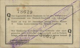 R.929q: Deutsch-Ostafrika 1 Rupie 1916 Q3 (2)